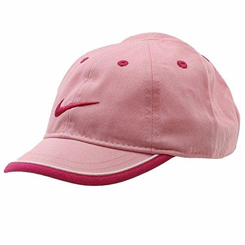 Nike Infants Baseball (Nike Infant Perfect Pink Swoosh Logo Adjustable Hat Baseball Cap Sz 12/24 Months)