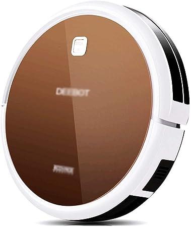 HYL Aspiradora Inteligente Aspirador automático del hogar Limpieza del Robot Robot de vacío Cleane Oficina Robot automático Aspirador de Hoover (Color: Marrón, tamaño: 33 * 33 * 7.9cm): Amazon.es: Hogar