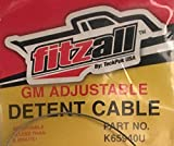 700R4 TRANSMISSION KICK DOWN DETENT CABLE