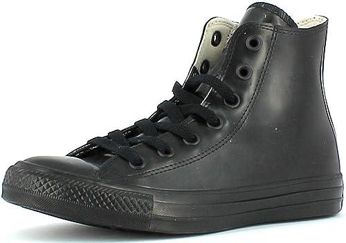 chaussure haute noire converse 36