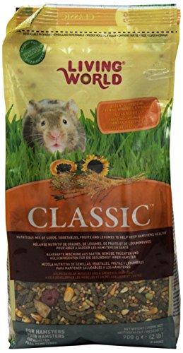 Living World Classic Hamster Food, 2-Pound (Food Bag 2 Hamster Lb)