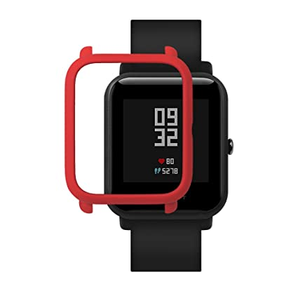 Xiaomi Huami Amazfit Bip Smartwatch Protector Case Funda SIKAI Moda Slim Colorido Marco Caso Cubierta Proteger