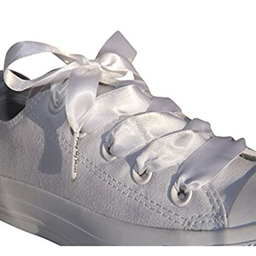 80%OFF White Satin Ribbon Shoe Laces Shoe Strings To Fit