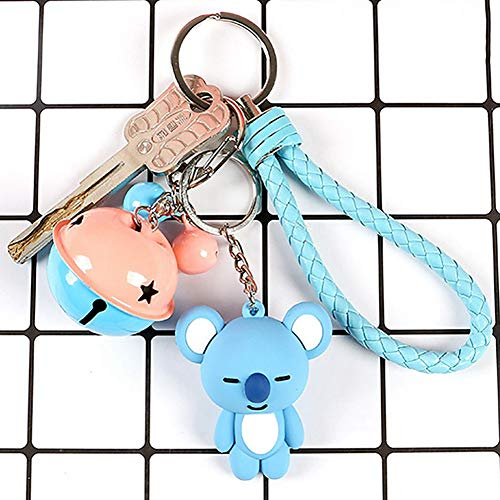 Satelliter BTS Keychain Set, Acrylic And Silicone Cute Carton Keychain, Hot Gift for ARMY(10cm H05) by Satelliter (Image #1)