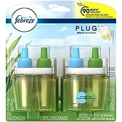 Febreze Air Freshener, Noticeables Air Freshener, Meadows & Rain Dual Refill Air Freshener (2 Count, 1.75 Oz)