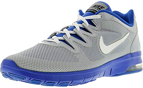 Nike Women's Air Max Fusion Team Wolf Grey/White - Treasure Blue Pure Platinum Ankle-High Mesh Running Shoe 10.5M