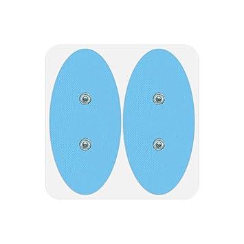 Pack De 4 Electrodes Ovales Surf Bluetens