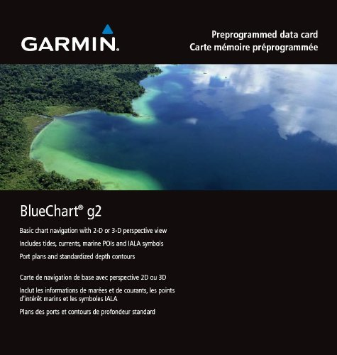 Garmin BlueChart g2 Marine Mapping Update Card
