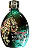 Ed Hardy Get Ripped Indoor Tanning Bed Lotion Bronzer w/ Tattoo Protection 13.5 Oz/ 400 Ml