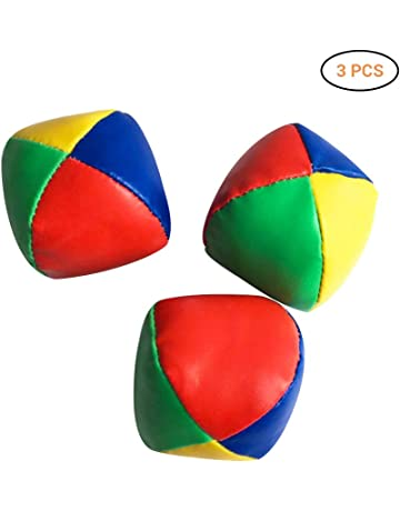 Alomejor Juego de Bolas de malabarismo de Bolas de malabarismo de 3 cm 3 Piezas para Principiantes y Profesionales