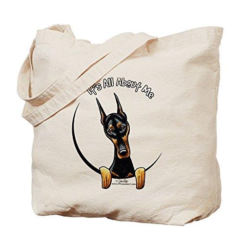 CafePress–Doberman IAAM–Gamuza de bolsa de lona bolsa, bolsa de la compra