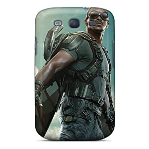 Cute Tpu Whcases The Falcon Captain America The Winter Soldier Case Cover For Galaxy S3