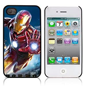 iLookcase Comic Serie: High Quality Printing Iron Man Hard Cover Case for Apple iPhone 5c