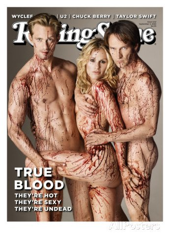 Rolling Stone Magazine True Blood They're Hot!!they're Sexy !!!They're Undead pdf epub