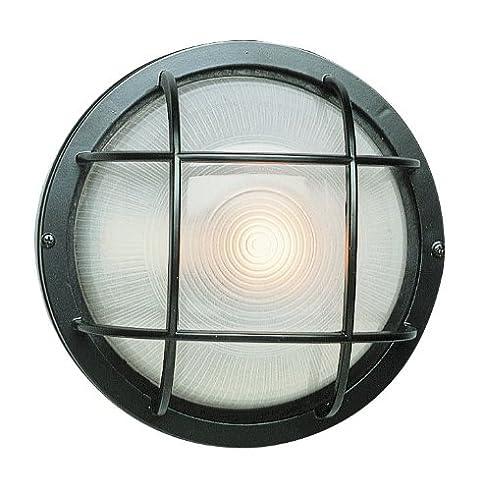 Trans Globe Lighting 41515 BK Outdoor Aria 10u0026quot; Bulkhead, ...
