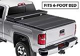 Extang Solid Fold 2.0 Toolbox Hard Folding Truck Bed Tonneau Cover | 84450 | fits Chevy/GMC Silverado/Sierra 1500 (5 ft 8 in) 2014-18, 2019 Silverado 1500 Legacy & 2019 Sierra 1500 Limited