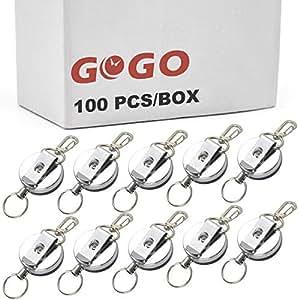 Amazon.com: GOGO - Llavero de metal con clip para cinturón ...