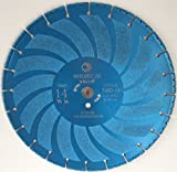 Whirlwind USA TVBD 14 in. All Purpose Metal Cutting Dry or Wet Cutting Vacuum-Brazed Segmented Diamond Blades for Metal and Plastic Materials (Factory Direct Sale) (D14'')