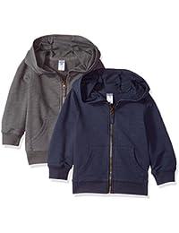 Boys' Toddler 2-Pack Full Zip Hoodie