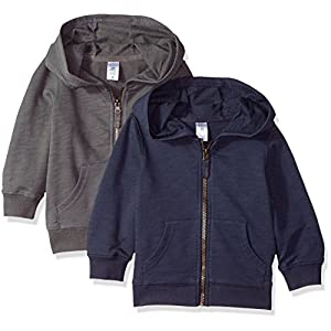Carter's Boys' Big 2-Pack Full Zip Hoodies