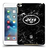new york jets ipad case - Official NFL Marble 2017/18 New York Jets Logo Hard Back Case for Apple iPad mini 4