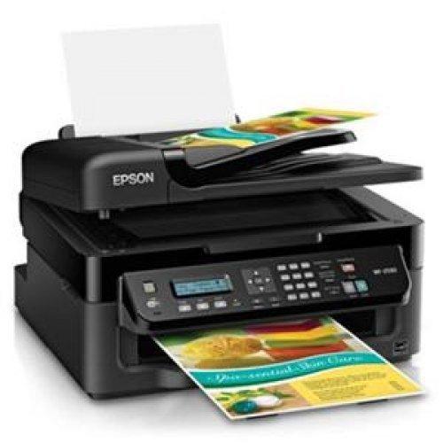 EPSON WorkForce WF-2530 Inkjet Multifunction Printer - Color - Photo Print / Wi-Fi - USB / C11CC37201 /