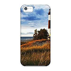 iphone 6 Specially cell phone case New Arrival Wonderful case wonderful lighthouse on lake michigan