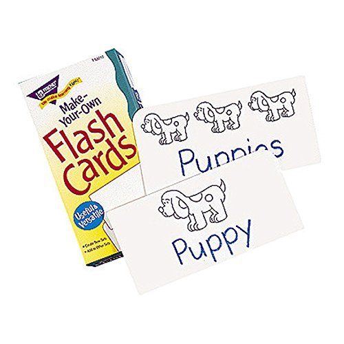 TREND ENTERPRISES INC. FLASH CARDS MAKE YOUR OWN 100/BOX (Set of 12)