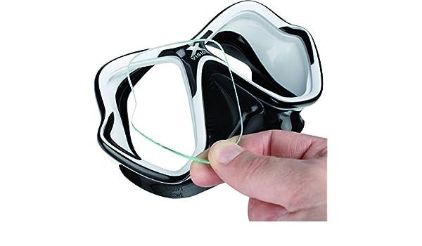 MARES - 411186NG065SN/392 : Lente graduada para mascara buceo X-VISION: Amazon.es: Coche y moto