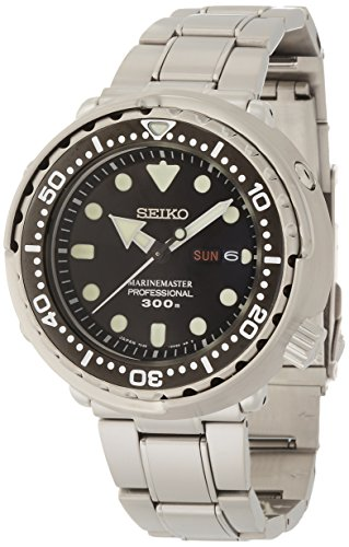 Seiko Men's SBBN031 Prospex Analog Japanese Quartz 300m Water Resistant Watch