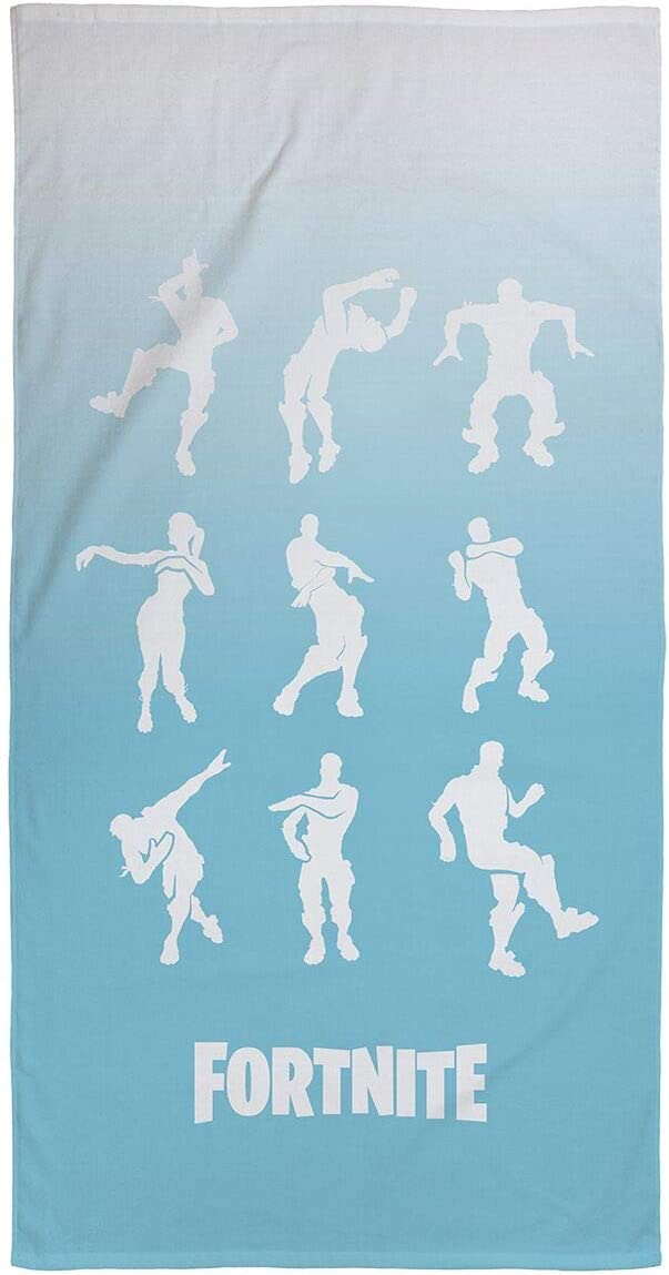Fortnite Emotes Dance Kids Bath/Pool/Beach Towel - Super Soft & Absorbent Fade Resistant Cotton Towel, Measures 28 inch x 58 inch
