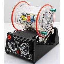 Eleoption Rotary Tumbler Jewelry Polisher Finisher Machine Professional Mini Tumbler with Free Polishing Bead Ship by DHL (110V 45W)