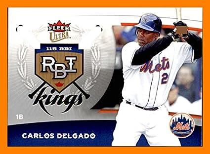 size 40 73dea b95c8 2006 Ultra RBI Kings #RBI15 Carlos Delgado NEW YORK METS at ...