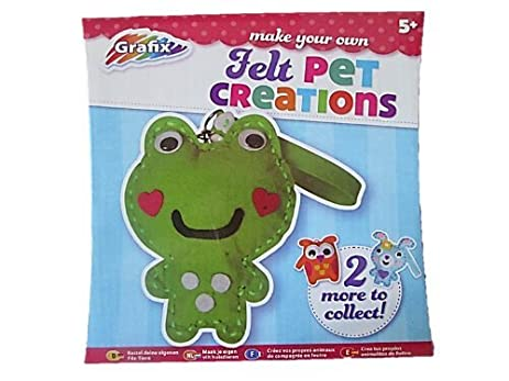 amazon com grafix make your own felt pet diy childrens craft kit
