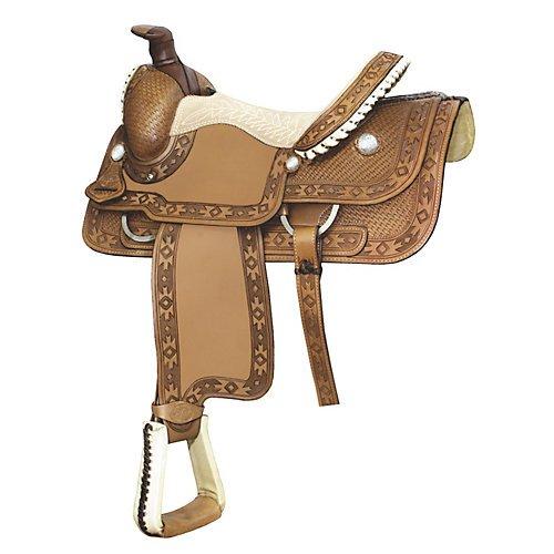 Billy Cook Saddlery Apache Bsk Roper Saddle 16In R