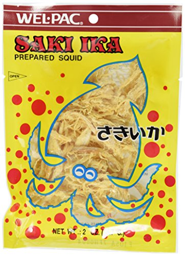 Wel-Pac - Saki Ika Regular (dried squid) 2.0 Oz.