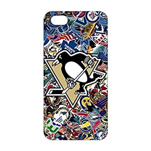 Fortune 3D Case Cover NHL Pittsburgh Penguins Phone Case For Sam Sung Galaxy S4 I9500 Cover
