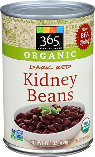 365 Everyday Value, Organic Dark Red Kidney Beans, 15.25 oz