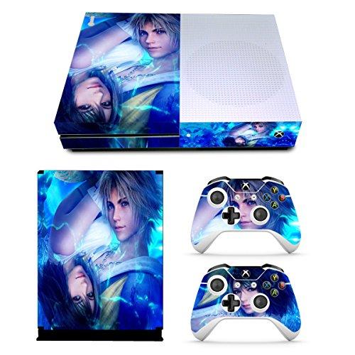 EBTY-Dreams Inc. - Microsoft Xbox One Slim - Final Fantasy X FF10 FFX Yuna Tidus Vinyl Skin Sticker Decal Protector