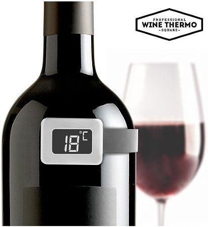 Summum Sommelier Termometro Per Vino Grigio 3 5 X 10 5 X 10 3 Cm Amazon It Casa E Cucina Termometro da vino per una degustazione perfetta! summum sommelier termometro per vino grigio 3 5 x 10 5 x 10 3 cm
