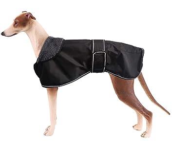 Morezi Chaqueta Impermeable para Perro, Abrigo de Invierno para Perro con Forro Polar cálido,