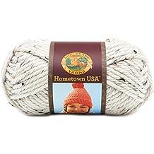 Lion Brand Yarn 135-302H Hometown USA Yarn, Aspen Tweed