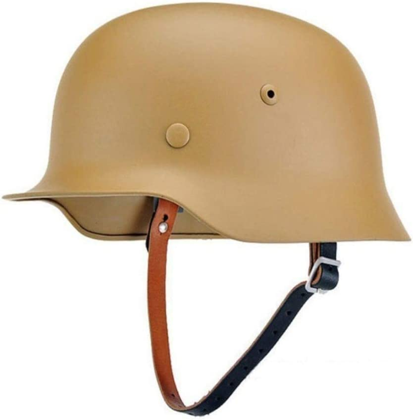 WW2 German Gear Elite WH Army M35 M1935 Stahlhelm Sand