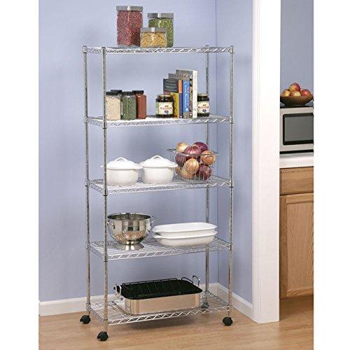 Seville Classics Metal 5-shelf Shelving System by Seville Classics