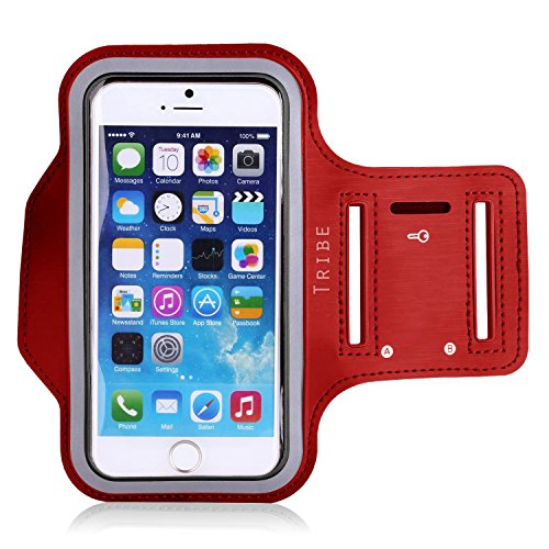 Water Resistant Cell Phone Armband: 5.2 Inch Case for iPhone 7, 6,...