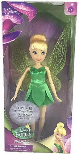 Tinker Bell Toys (Disney's Fairies and Peter Pan's Tinker Bell with Wings that Flutter - New for)