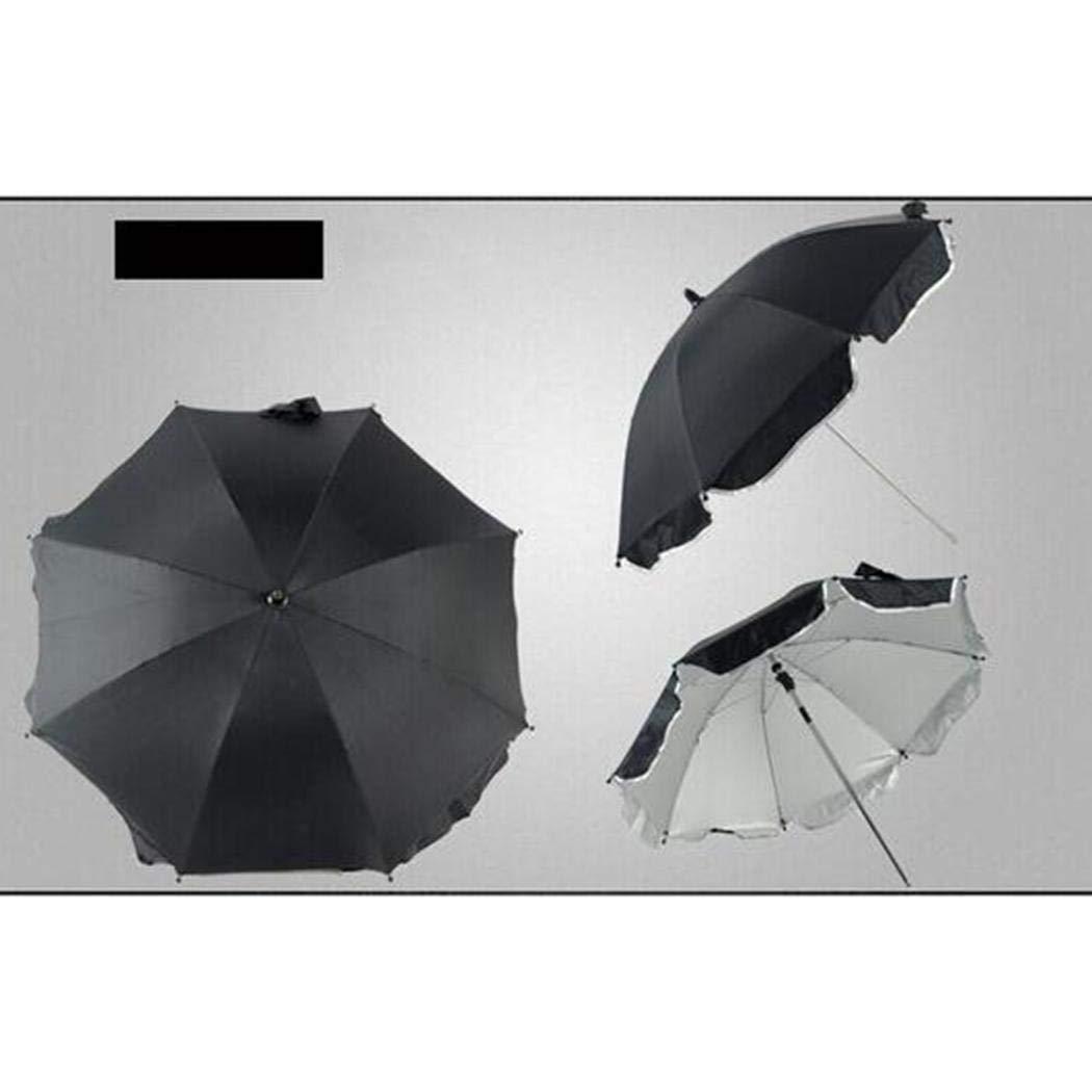 Pinsparkle Durable Folding Solid Pushchair Sun Umbrella Pram Umbrella Sun Protection by Pinsparkle (Image #2)