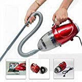 MWMallIndia 220-240 V, 50 Hz, 1000 W Blowing and Sucking Dual Purpose Vacuum Cleaner (Standard Size, Red)