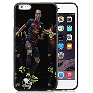 Fashionable Custom Designed Cover Case For iPhone 6 Plus 5.5 Inch With Andres Iniesta Phone Case Cover