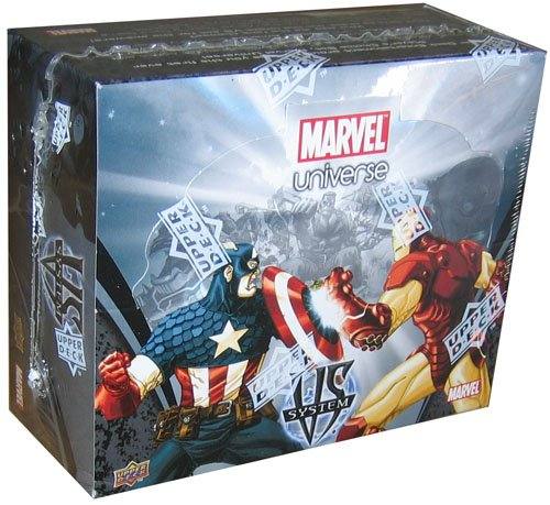 Marvel VS System Trading Card Game Marvel Universe Booster Box 24 Packs by Marvel